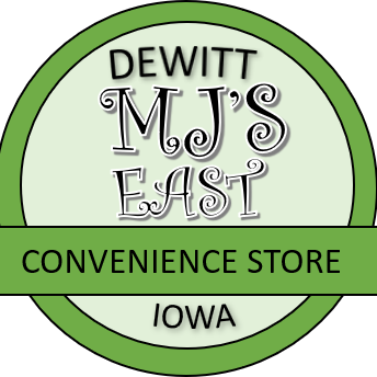 Logo for MJ'S East Convenience Store